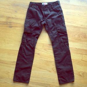 Levi's boys size 12 black cargo pants